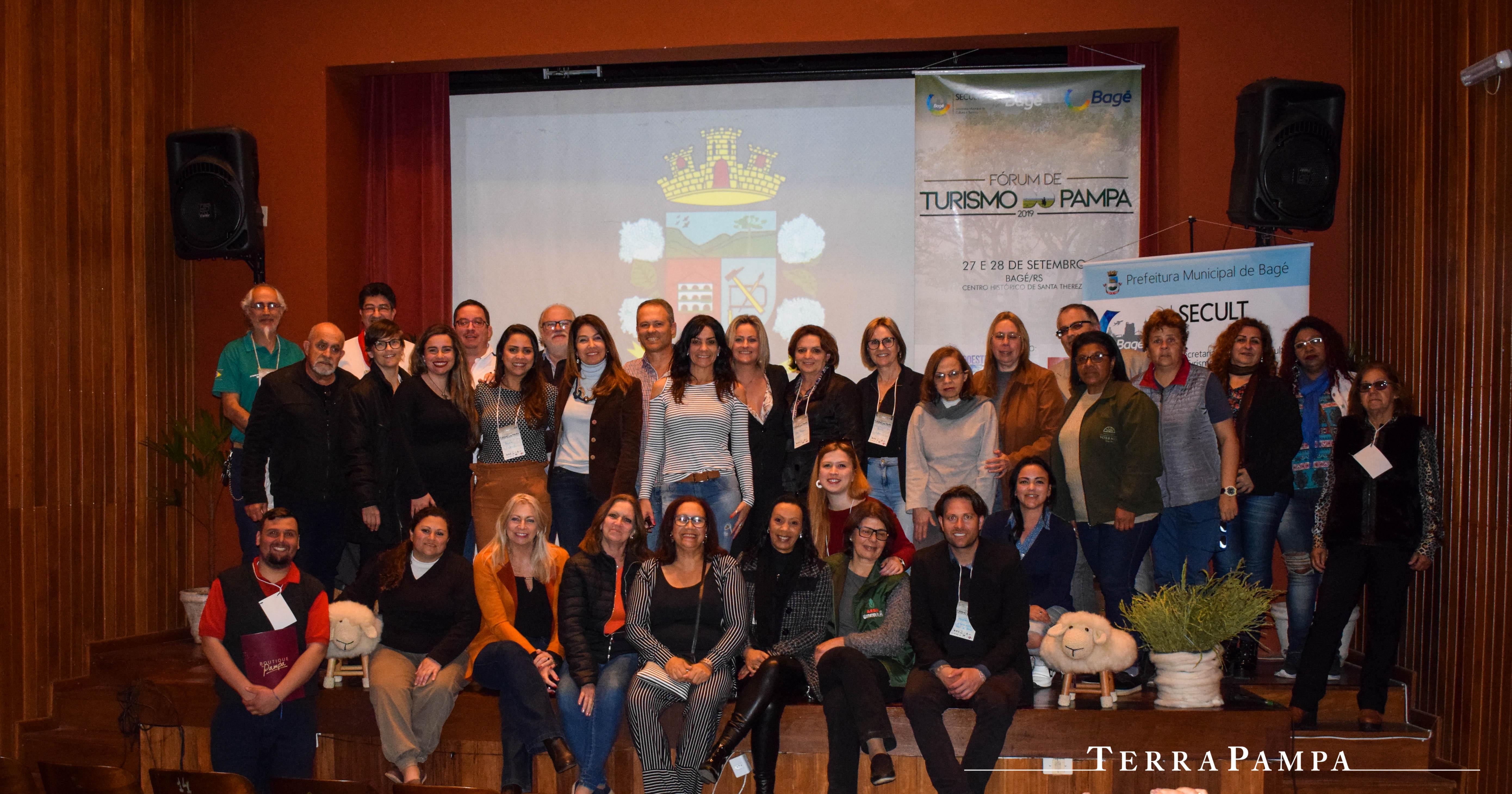 TERRAPAMPA - TerraPampa presente no Fórum de Turismo do Pampa 2019